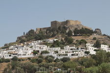 Остров Родос. Белый город Линдос
