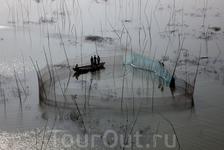 Рыболовные сети в области Дакка, Бангладеш