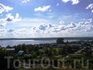 Вид на озеро с высшей тоски села