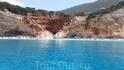 пляж Порто Кацики с моря
