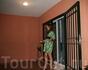 На балкончике......)))) На вилле которую мы снимали