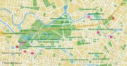 Карта Берлина на русском