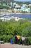 вид на город с высоты восточного косогора