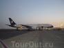 Самолет в аэропорту Шарм-эль-Шейха