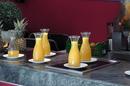 Свеженький апельсиновый сок.
