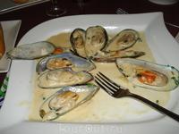 свежие  морепродукты с океана