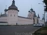 Ростовский кремль. Крепостные стены.
