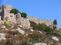 Восточная часть замка.