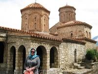 в монастыре святого Наума Охридского