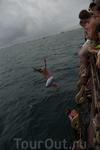 Морская прогулка. Холодно было и шел дождь =D Смотреть не на что!!! В Турции была гораздо красивее.