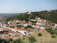 Вид с крепостных стен на Алжезур