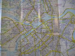 Карта центра Санкт-Петербурга