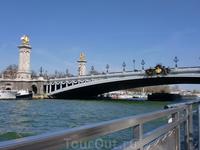 Мост Александра Ш подарок России.Самый красивый мост.