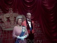 Ее величество королева Елизавета с супругом