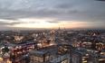 панорама Таллина с самого высокого этажа отеля Рэдиссон