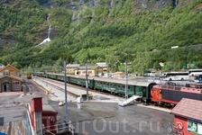 Фломская железная дорога считается самой крутой железнодорожной веткой в мире.