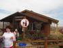 чайный домик расположен по пути к Медовым водопадам