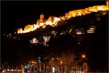 Вид на крепость Нарикала