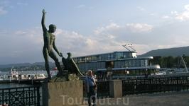 на набережной Цюриха