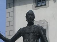 Регенсбург. Статуя Дон-Хуана Авст-рийского (фрагмент)