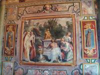 """Фреска """"Поклонение Матер Матуте с сыном Портунно"""""""