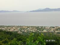 Виды на Родос со смотровой площадки (от монастыря)