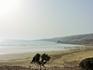 Вот такой красивый и почти пустой пляж
