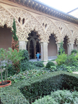 Оригинальные резные арки, украшенные орнаментом, после реставрации были отправлены на хранение в Национальный Археологический Музей в Мадриде. Ученый из ...