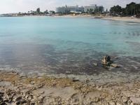 вот оно! Средиземное море в конце декабря ;)