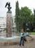 Орлы в парке Сибелиуса