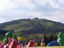 г.Горно-Алтайск, вид из окна гостиницы