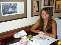 Литературное кафе в Евпатории в доме, где когда-то жила А.Ахматова