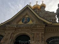 Церковь Марии Магдалины, куда везут всех православных туристов. Вид2