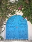 Сиди-Бу-Саид. Город, окрашенный в бело-голубые цвета.