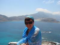 Вид на бухту Балос