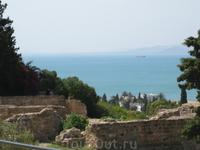 Вид на море в Карфагене