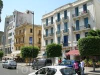 Тунис, столица Туниса. Современный центр.