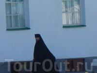 А вот и монах  Александра Свирского монастыря.