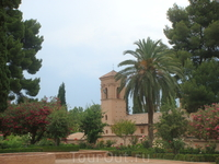 Гранада. Сады Альгамбры
