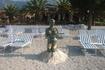 Скульптура на одном из пляжей