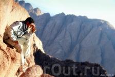 На вершине горы Моисей