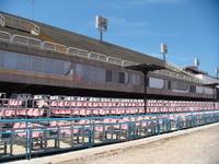 Это места зрителей, пришедших посмотреть самое красочное действо в мире. Билеты для туристов от 500-600$ за одно представление.