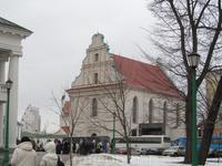 Еще одна церковь, которая принадлежала иезуитам. Сейчас не действующая.