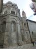 Обходя собор по кругу мы увидели потрясающей красоты сооружение, так называемый cimborrio - бочкообразный купол некоторых соборов. Впервые я такой увидела ...