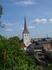 Троицкую церковь несколько раз перестраивали, шпиль аж в 18 веке, а всё равно вид у неё донельзя старинный