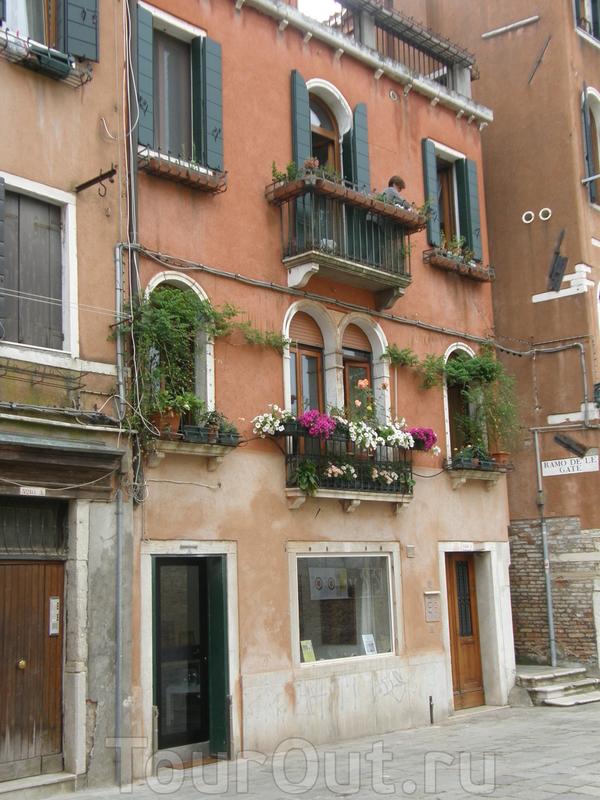 Венеция - уютные дворики