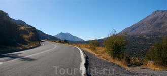 Дороги южного Крита.