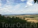 Вид на Чехию с горы Ржип