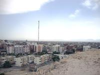 Вид на Хургаду с самой высокой точки в городе