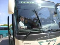 Агиос Николаос. Автобус в Элунду